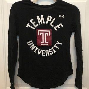 Under armor Temple University long sleeve